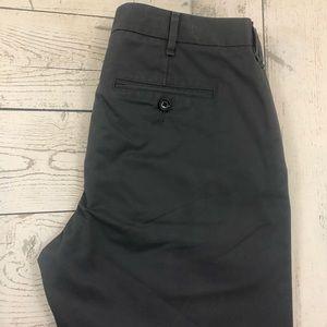Bonobos W30 x L32 Gray Straight Fit Chino Pants